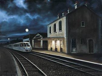 Rencontre dans le train de nuit